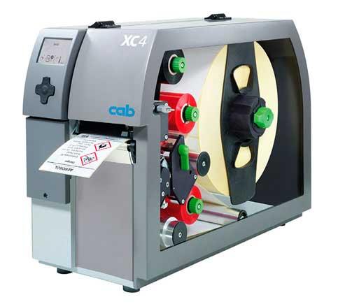 Impresora De Etiquetas CAB Serie XC4, XC6 Para Imprimir A Doble Cara