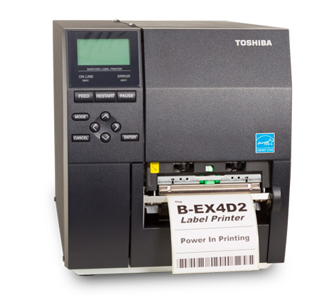 Impresora De Etiquetas Industrial Toshiba B EX4D2