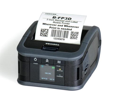 Impresora De Etiquetas Portátiles Serie B FP3