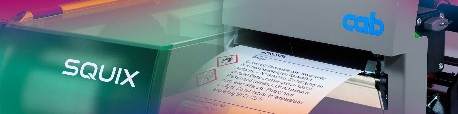 Impresoras Etiquetas Cab Doble Cara Dos Colores